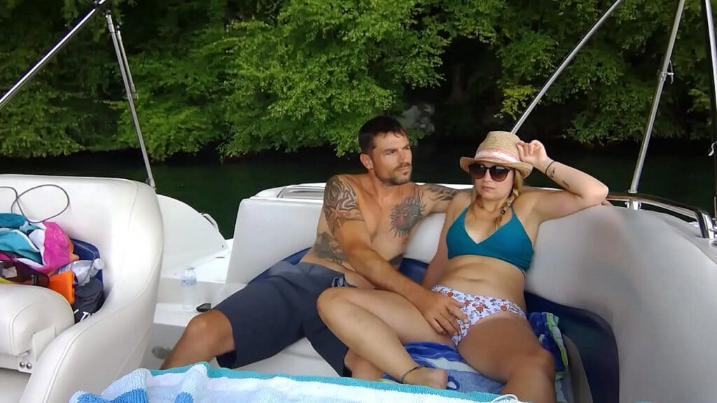 wife sex on a boat
